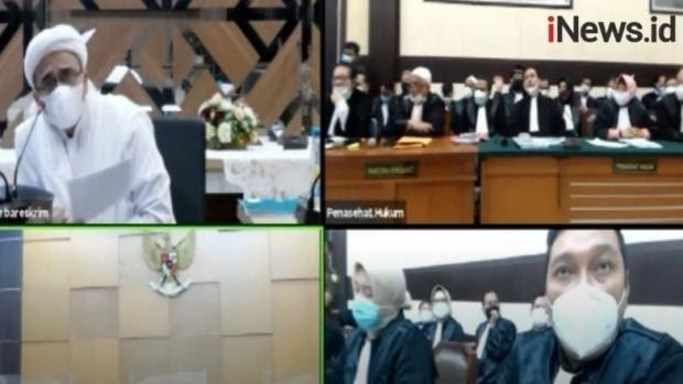 Permohonan Dikabulkan, Sidang Habib Rizieq Shihab Akan Digelar Tatap Muka